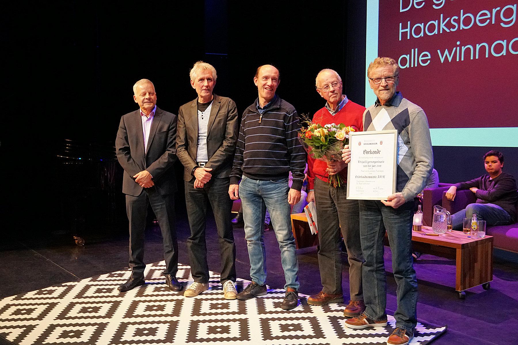Haaksbergse vrijwilligersprijs voor de onderhoudsploeg