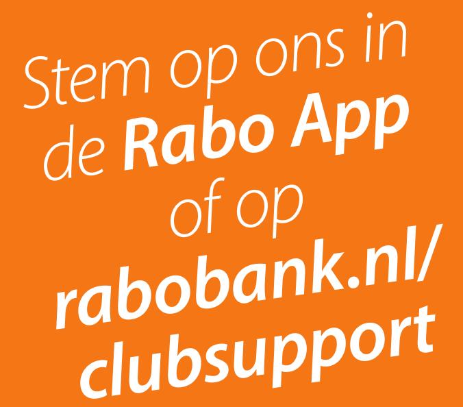 Rabo ClubSupport: AVH doet mee!
